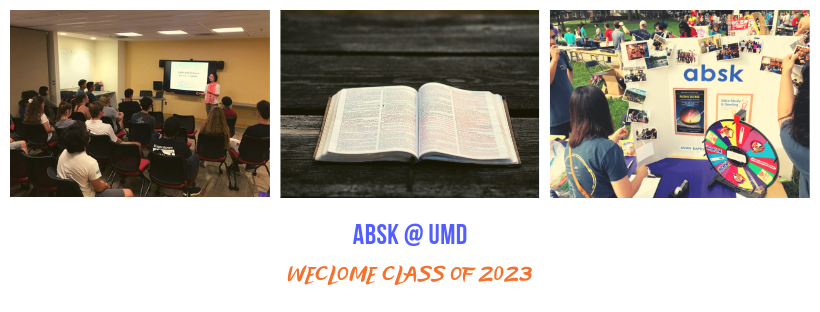 Upcoming Events – ABSK Christian Fellowship at UMD